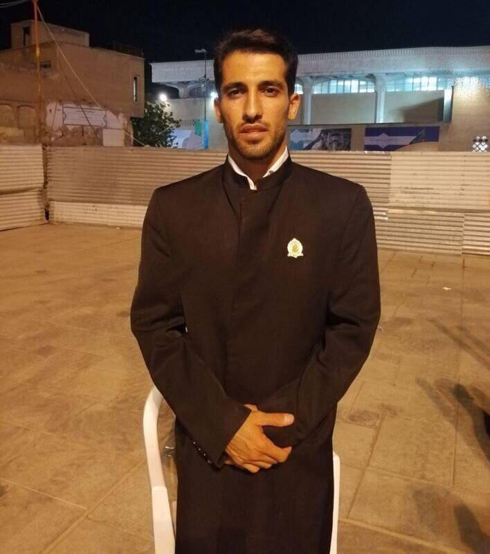 امیری خادم افتخاری حرم حضرت معصومه (س) شد + عکس