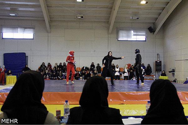 قهرمانان اولین دوره مسابقات هاپکیدو بانوان قم مشخص شدند