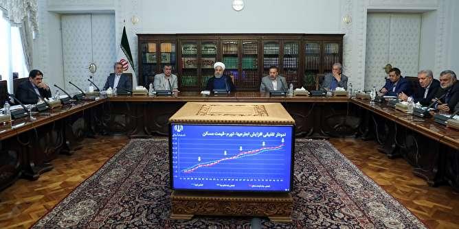 روحانی: در تهران میزان اجاره بها ۳۰ درصد افزایش یافته که این رقم امیدوارکننده است