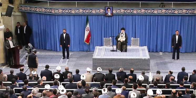 رهبر انقلاب: کاری کنید که احساس شود قوه قضائیه دچار تحول شده است/ ملت ایران با انقلاب اسلامی، خود را از لاک توسریخوری خلاص کرد