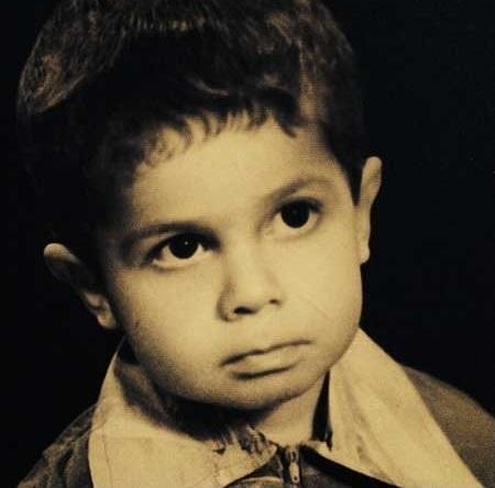 عکسی کمتر دیده شده از دوران کودکی جواد رضویان