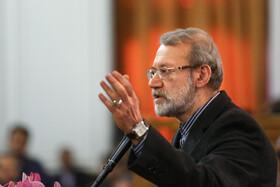تاکید لاریجانی بر افزایش همکاریها بین ایران و غنا