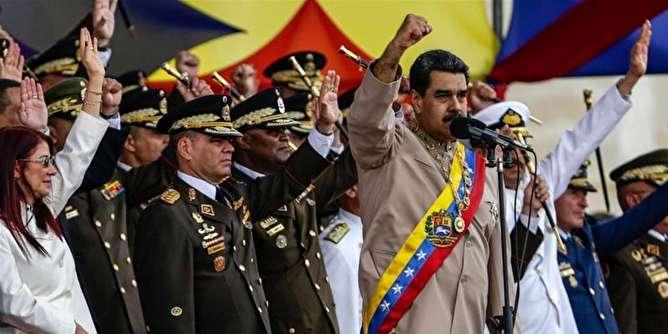 دستور آماده باش مادورو به ارتش ونزوئلا برای مقابله با حمله کلمبیا