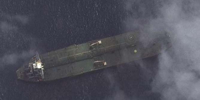 مشاهده «آدریان دریا ۱» در نزدیکی بندر طرطوس سوریه +تصویر ماهوارهای