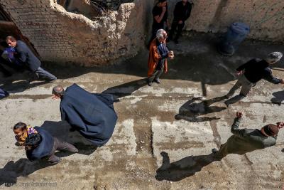 مراسم سنتی چغچغه زنی روستای انجدان اراک