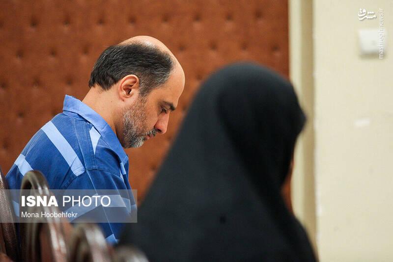 عکسهایی از شبنم نعمت زاده در دادگاه