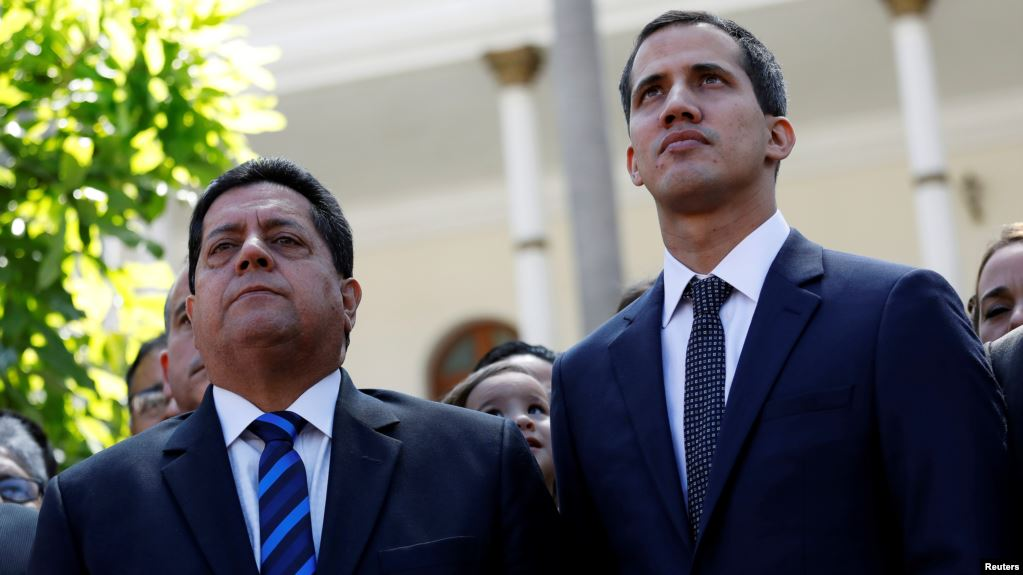 معاون خوان گوایدو، رهبر مخالفان ونزوئلا، آزاد شد