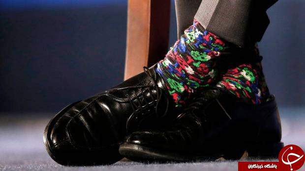 جوراب صورتی نخست وزیر کانادا سوژه شد +تصاویر