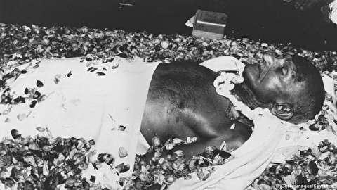 خاکستر مهاتما گاندی دزدیده شد