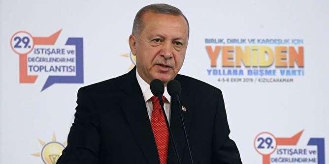 اردوغان: عملیات شرق فرات بسیار نزدیک است/ بازی تمام شده است