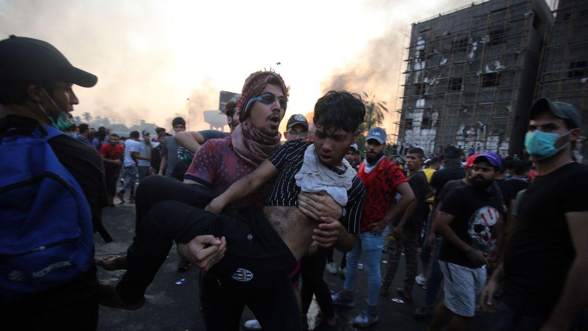 هشدار و نگرانی سازمان ملل از بحران اعتراضات مرگبار در عراق