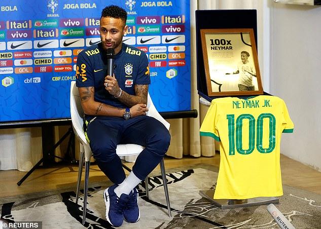 هدیه فدراسیون فوتبال برزیل به نیمار +عکس