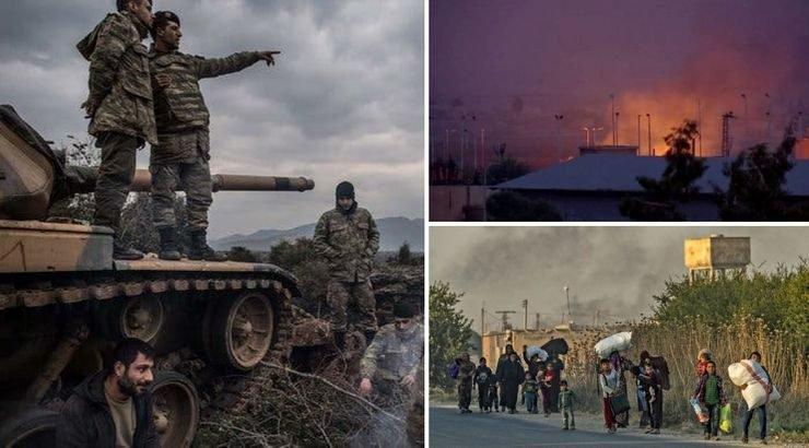 فرار دسته جمعی از مناطق مورد حمله ترکیه تا اعتراضات کُردهای ایران