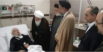 عیادت وزیر اطلاعات از آْیت الله مکارم شیرازی