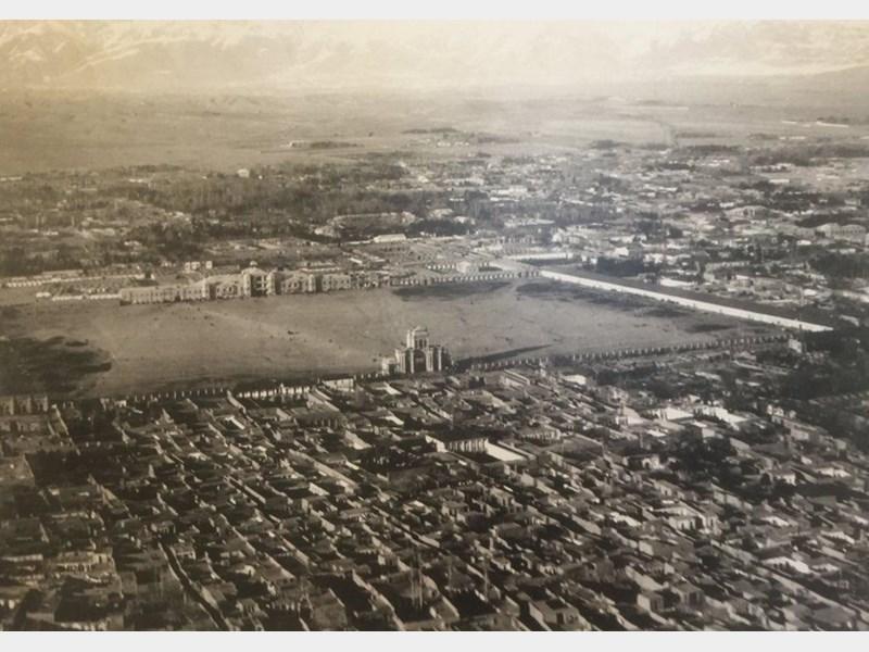 قدیمیترین عکس هوایی تهران!+عکس