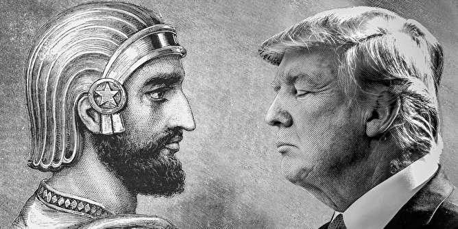 داستان دلبستگی ترامپ و هوادارانش به کوروش کبیر