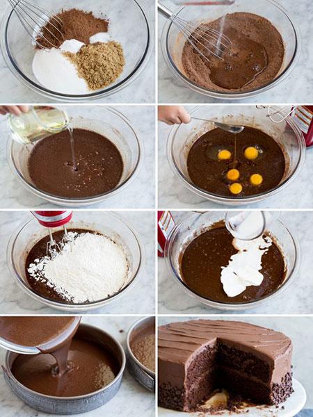 ترفندهای مهم برای بهترین کیک شکلاتی