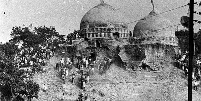 رای دیوان عالی هند به ساخت معبد به جای مسجد تاریخی بابری
