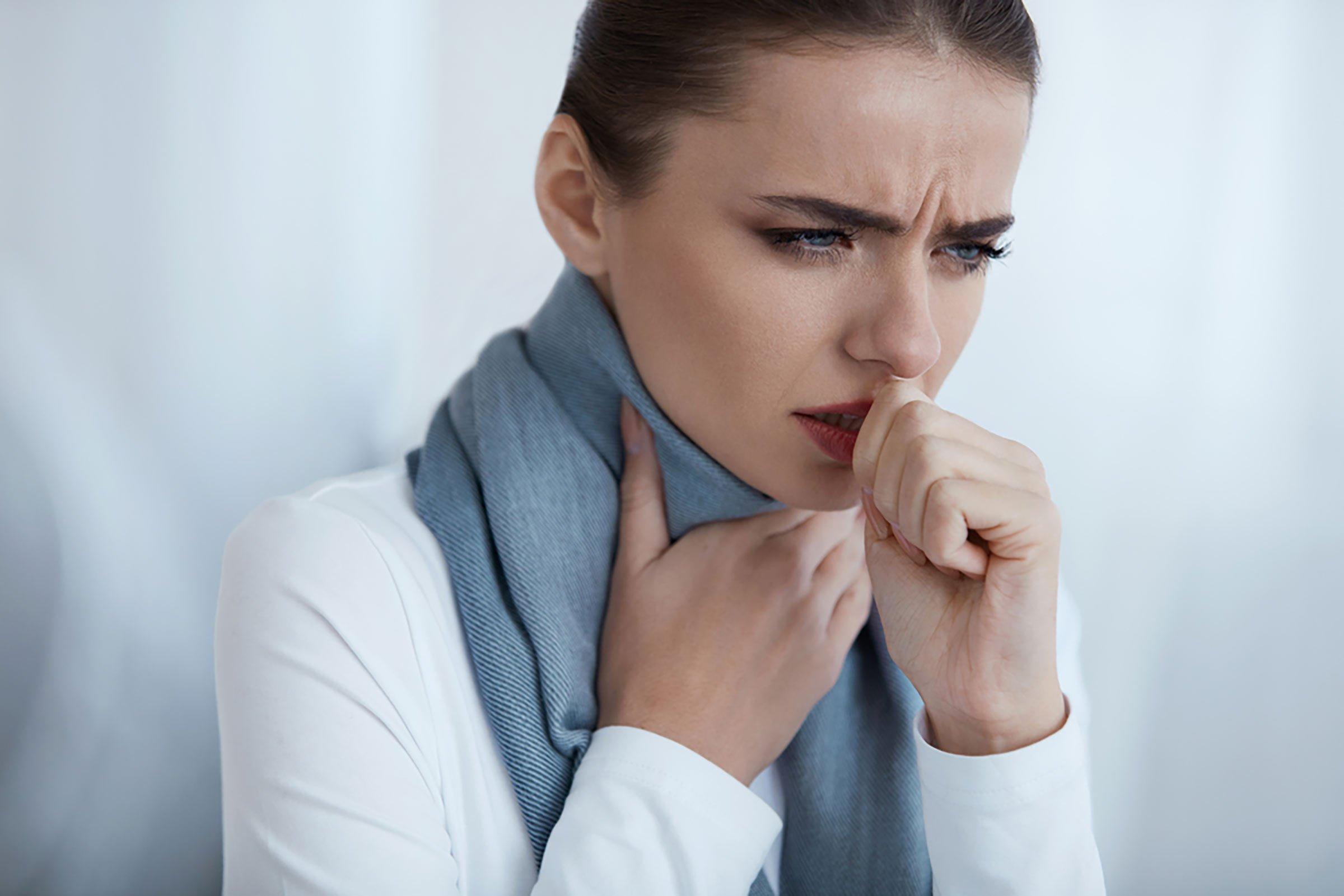 التهاب در ریه، اختلال در تنفس +درمان گیاهی