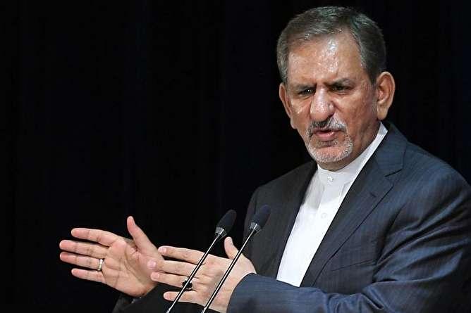 جهانگیری: امروز ایران در خطر است/ به اجماع، همبستگی و انسجام ملی نیاز داریم