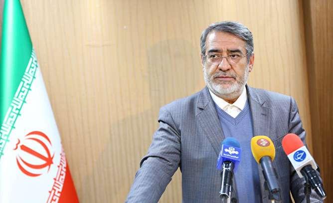 وزیر کشور خطاب به برخی سیاسیون: زحمات حافظان امنیت مردم را نادیده نگیرید