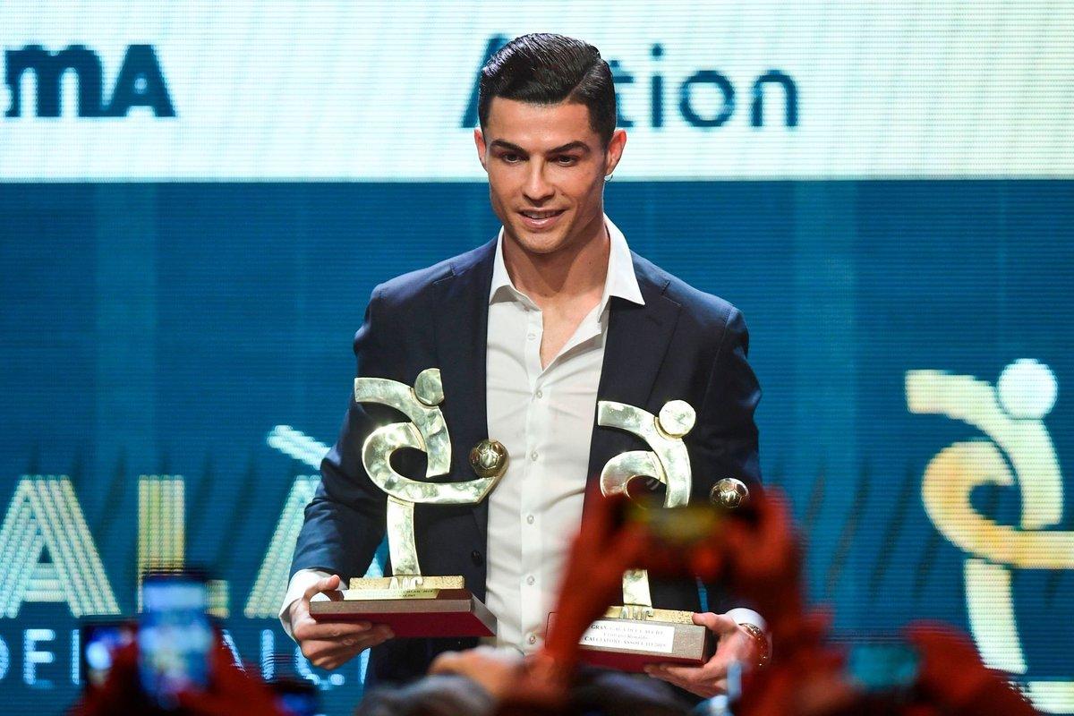 رونالدو بهترین بازیکن کالچو/ آتالانتا و گاسپرینی بهترین تیم و سرمربی