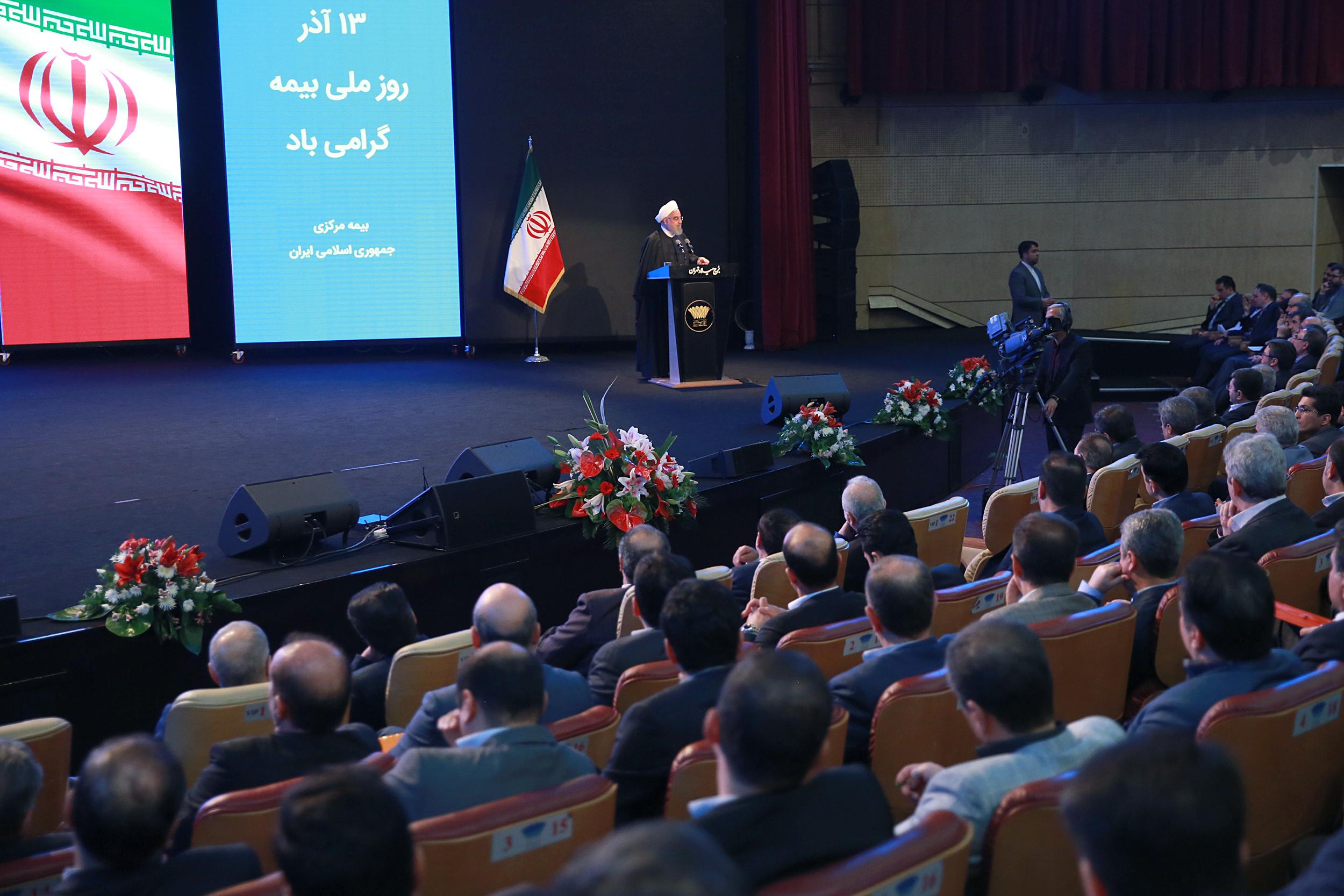روحانی:ماهیت بیمه، ماهیت امنیت بخشی به جامعه است/برای حفظ برجام سختیهای زیادی متحمل شدیم
