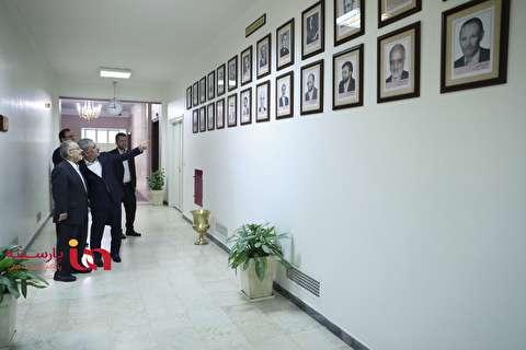 تمام مدیران عامل بانک ملی ایران در یک قاب+عکس