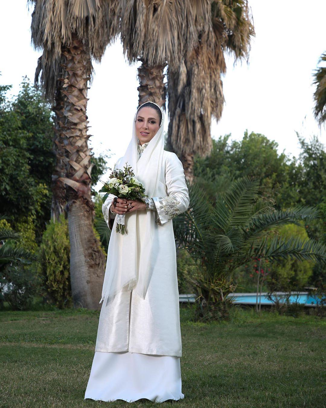 عکس های منتشر شده از مراسم ازدواج خانم بازیگر