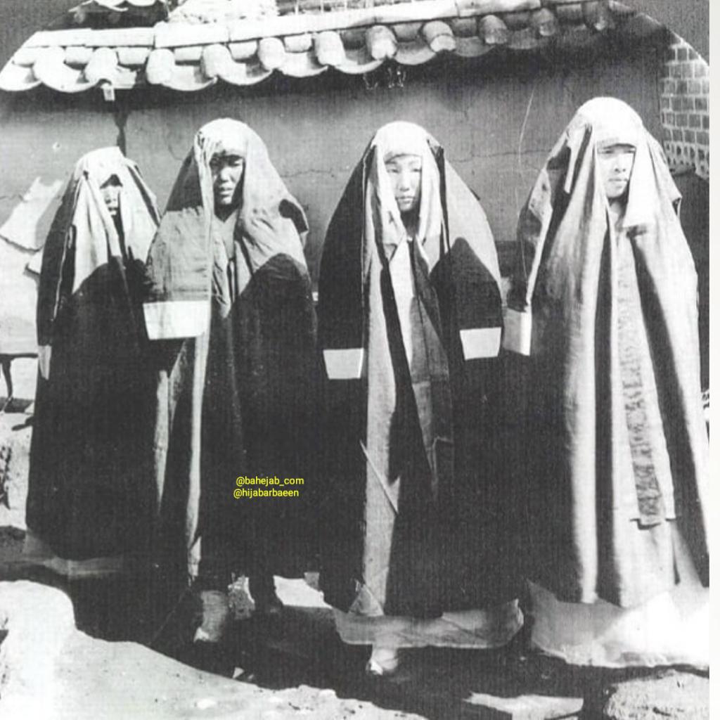 چادر زنان کرهای! +عکس