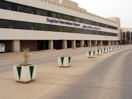 اصابت دو راکت کاتیوشا به نزدیکی فرودگاه بینالمللی بغداد