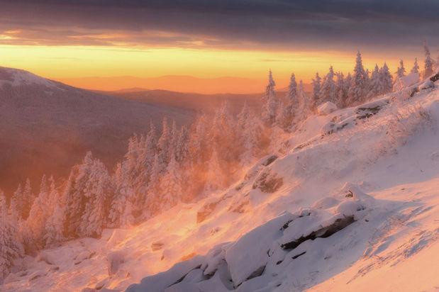 زمستان سحرآمیز روسیه