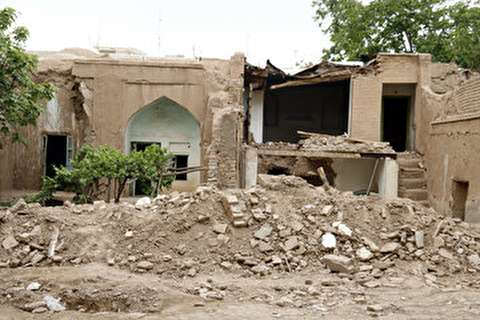 تخریب منزل مرحوم استاد حمید سبزواری