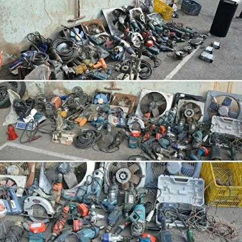 کشف ۵ پارکینگ احتکار خودرو/ دستگیری ۶٧٠ سارق و مالخر در پایتخت