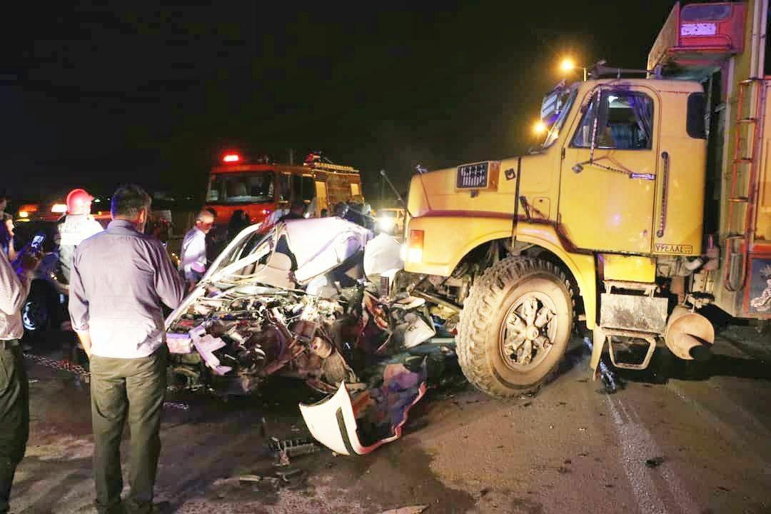 امام جمعه شهر کمشچه در حادثه رانندگی جان باخت+تصاویر