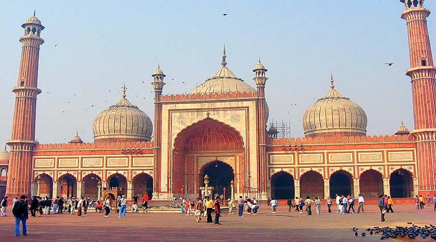 مسجد جاما، زیباترین مسجد هند + تصاویر