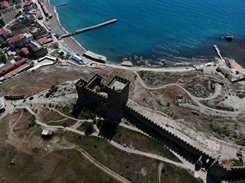 قلعه عجیب جنوا در سوداک