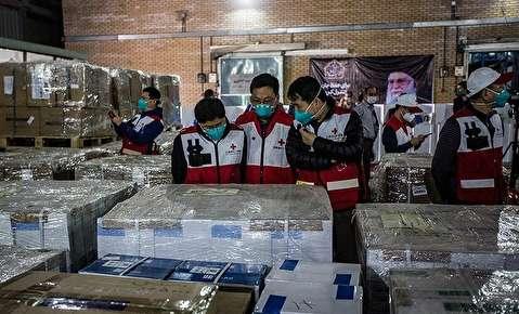 تحویل اقلام دارویی کشور چین به ایران