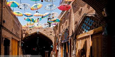 بازار اودلاجان تهران در روزهای کرونایی