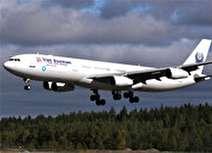 ۲ نفر بدلیل فرود اضطراری هواپیما در تهران شوکه شدند