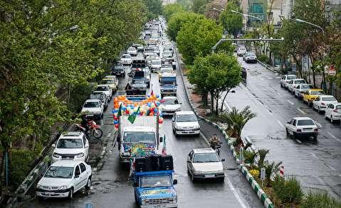 کاروان جشن ظهور در تهران