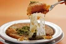 طرز تهیه کونوفه پنیری، دسر خاورمیانهای