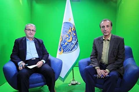 گفتگوی تلویزیون پارسینه با ولی الله فرزانه نماینده مردم نور و محمود آباد