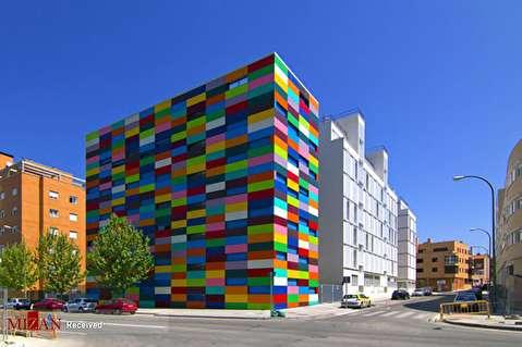 خانههای رنگی در سراسر جهان