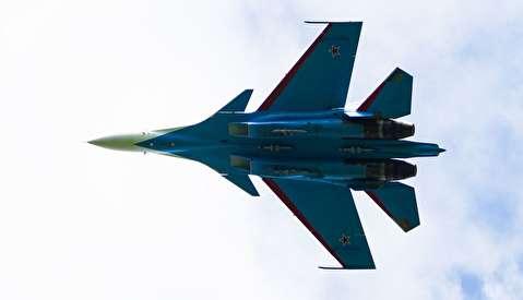 تمرینات جنگنده های روسی برای مراسم روز پیروزی