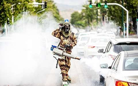 رژه خدمت ارتش در سراسر ایران