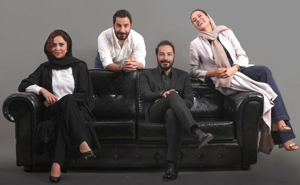 عکسی جالب از چهارمین همکاری نوید محمدزاده و پریناز ایزدیار