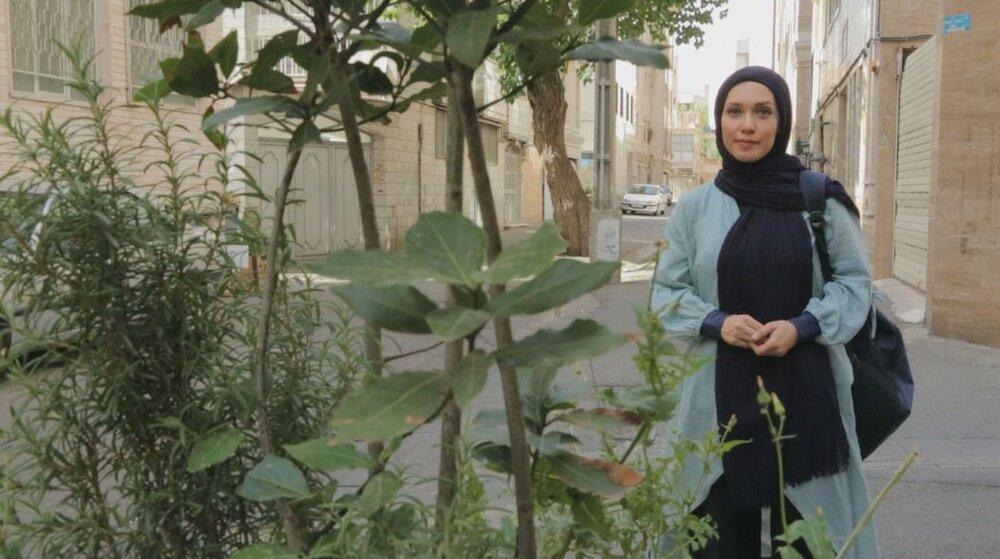 «تهرانگرد»ی با شهرزاد کمالزاده+ عکس