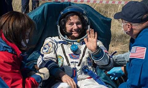 بازگشت فضانوردان ایستگاه بینالمللی فضایی به زمین