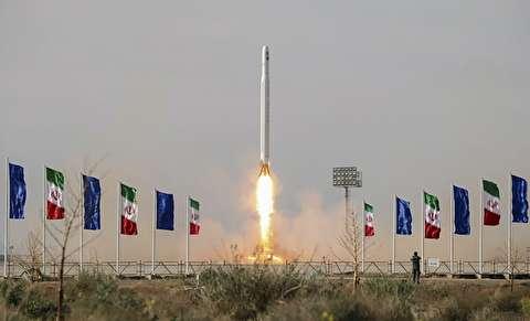 پرتاب نخستین ماهواره نظامی ایران